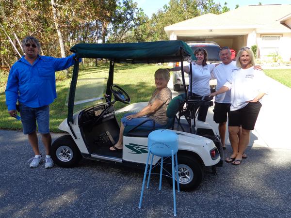 golf cart winner