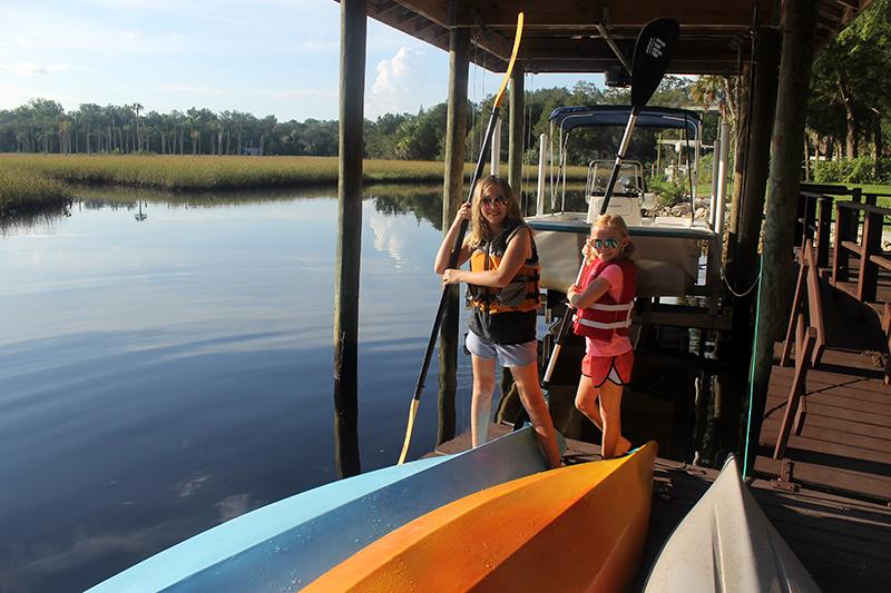 kids and kayaks