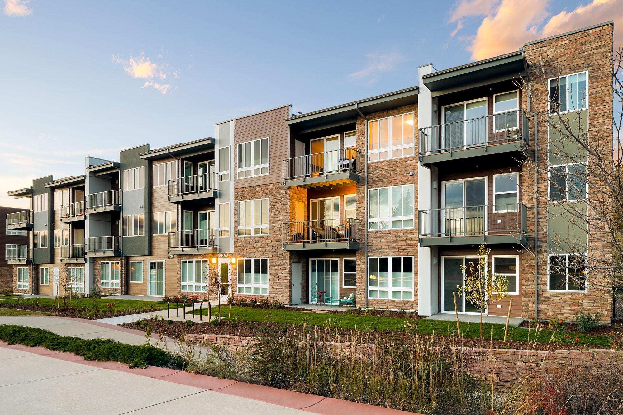 Apartments Boulder CO  WalkUp Design  KTGY Architects