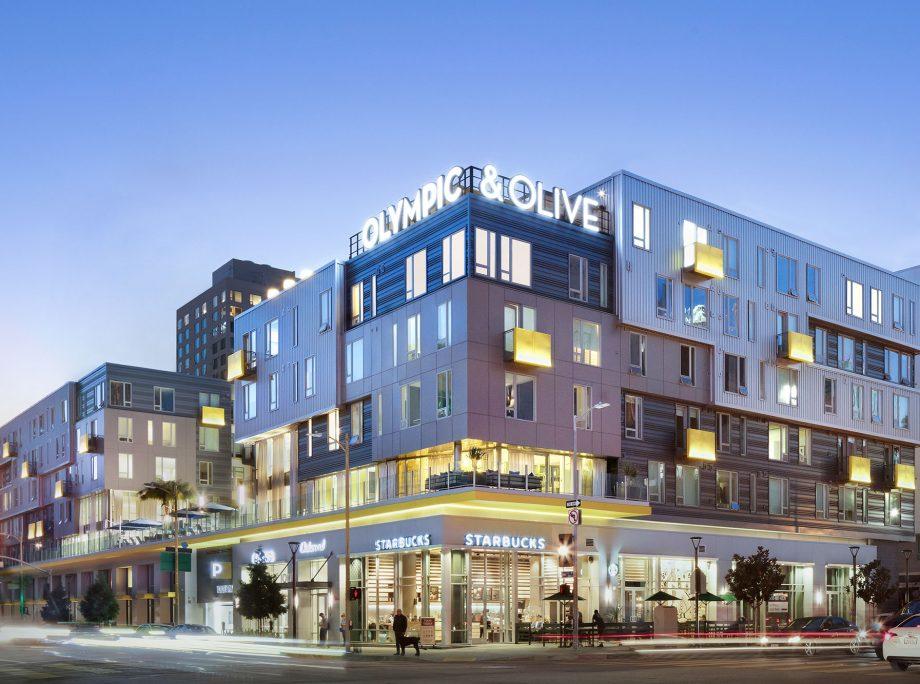 Olympic  Olive Apartments  LA Architects  KTGY