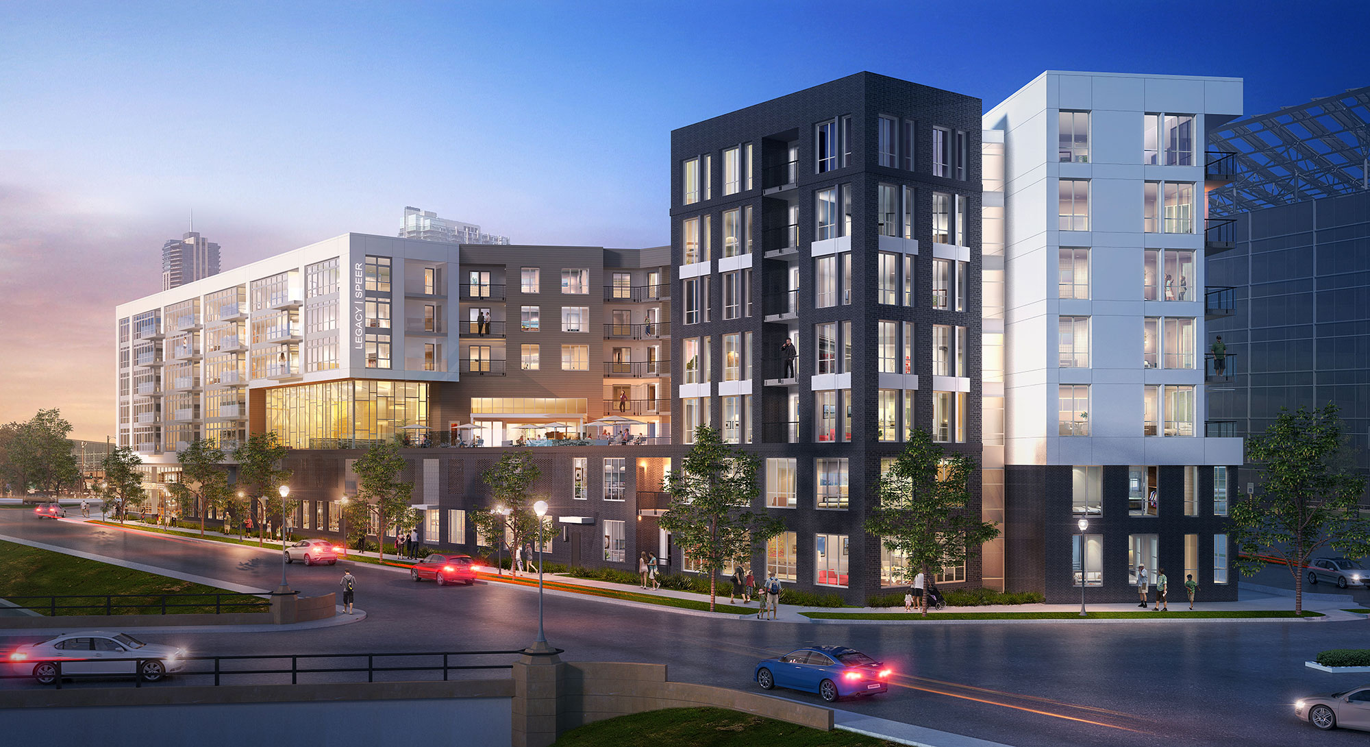 Legacy on Speer Project Rendering