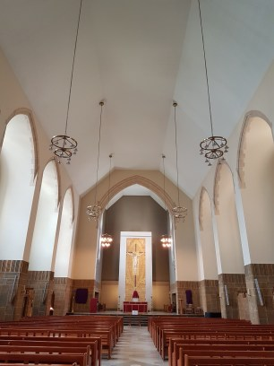 Inside Our Lady of Victories