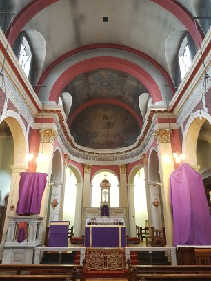 Inside St. Saviour's Lewisham