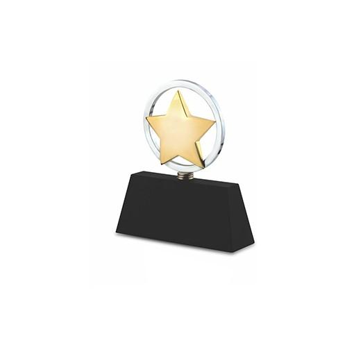Wood Metal Trophy 2612