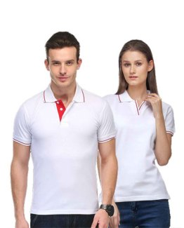 Scott-Polo-Neck-White-with-Red-Tip