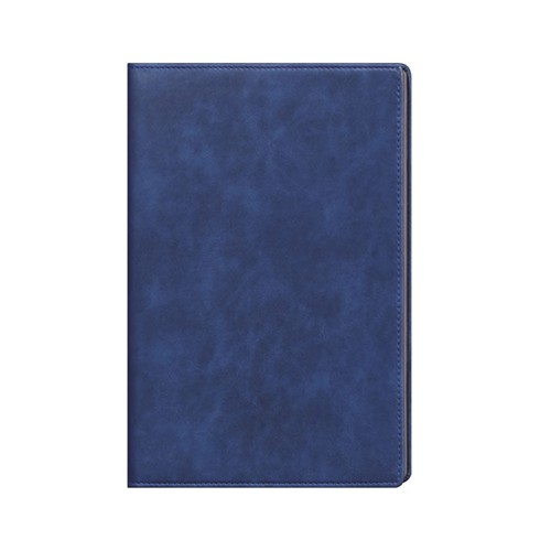 Faux Leather Aqua Blue A4 Notebook