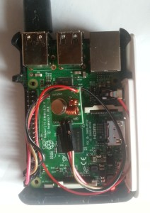 Pi with transmitter