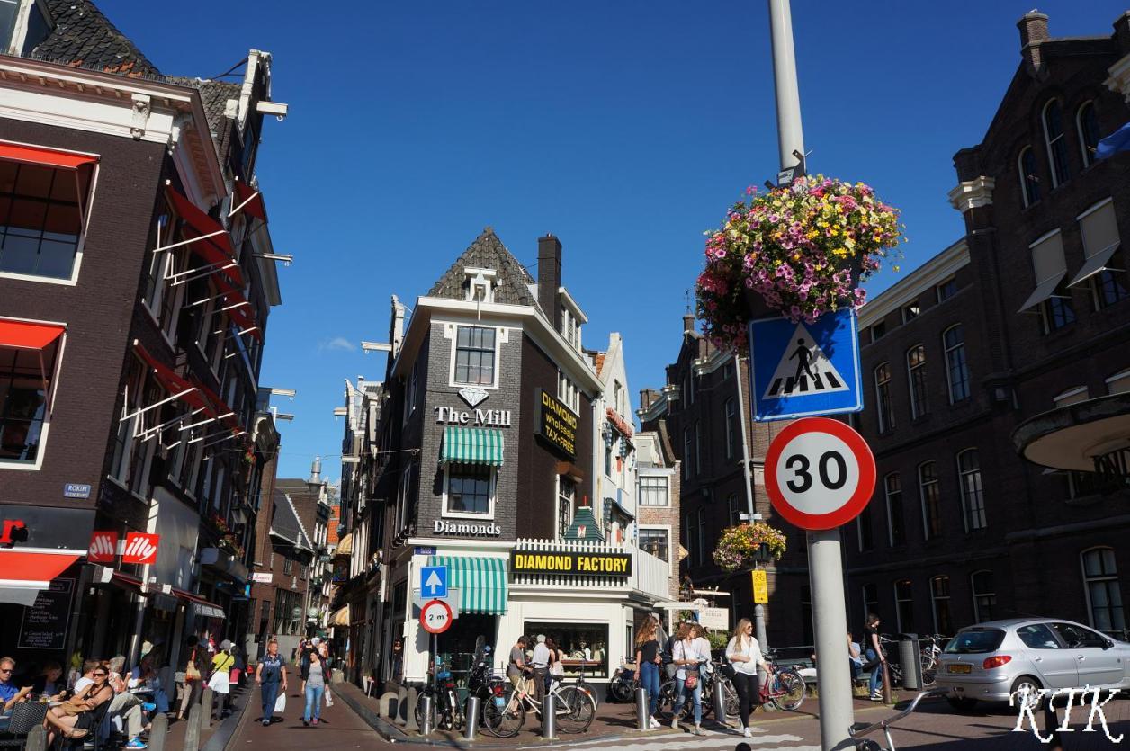24アムステルダム町の様子