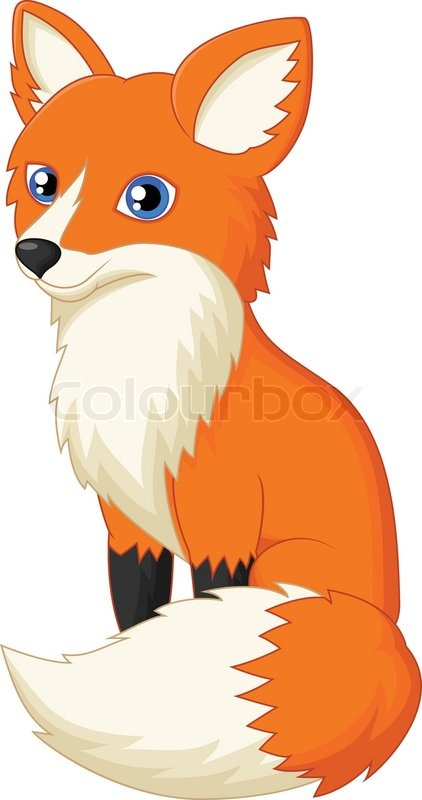 9781937-cute-fox-cartoon