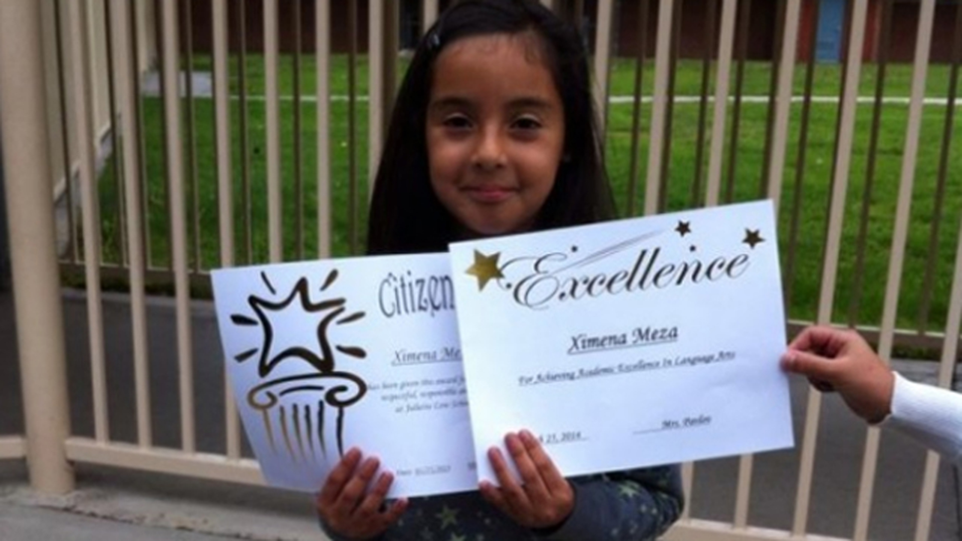 A GoFundMe page was established for Ximena Meza, who was shot and killed Oct. 22, 2014.