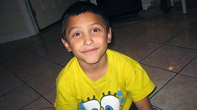 Gabriel Fernandez is shown in a photo posted to Facebook.