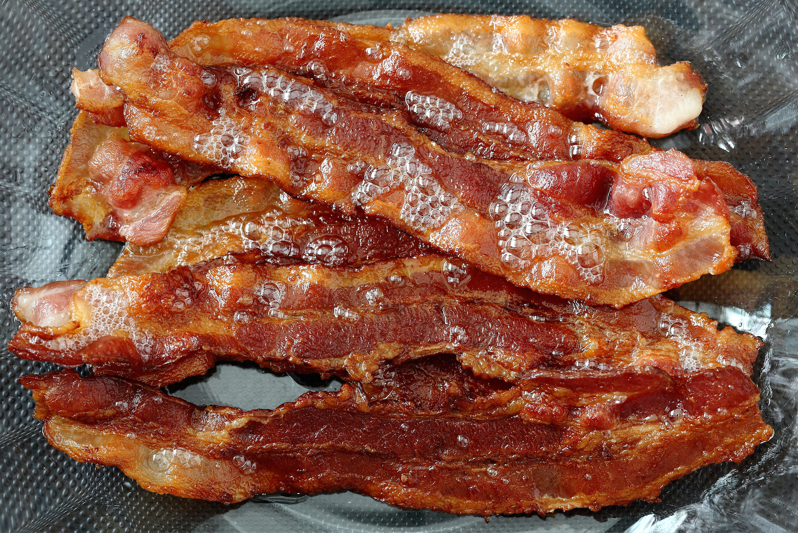 Cooked bacon is seen in this file photo. (Credit: Shutterstock)