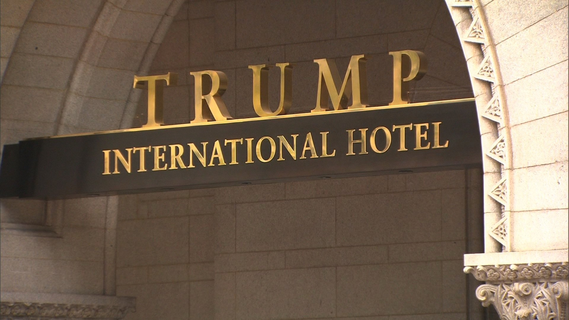 Trump International Hotel in Washington, D.C. is seen in an undated photo. (Credit: CNN)