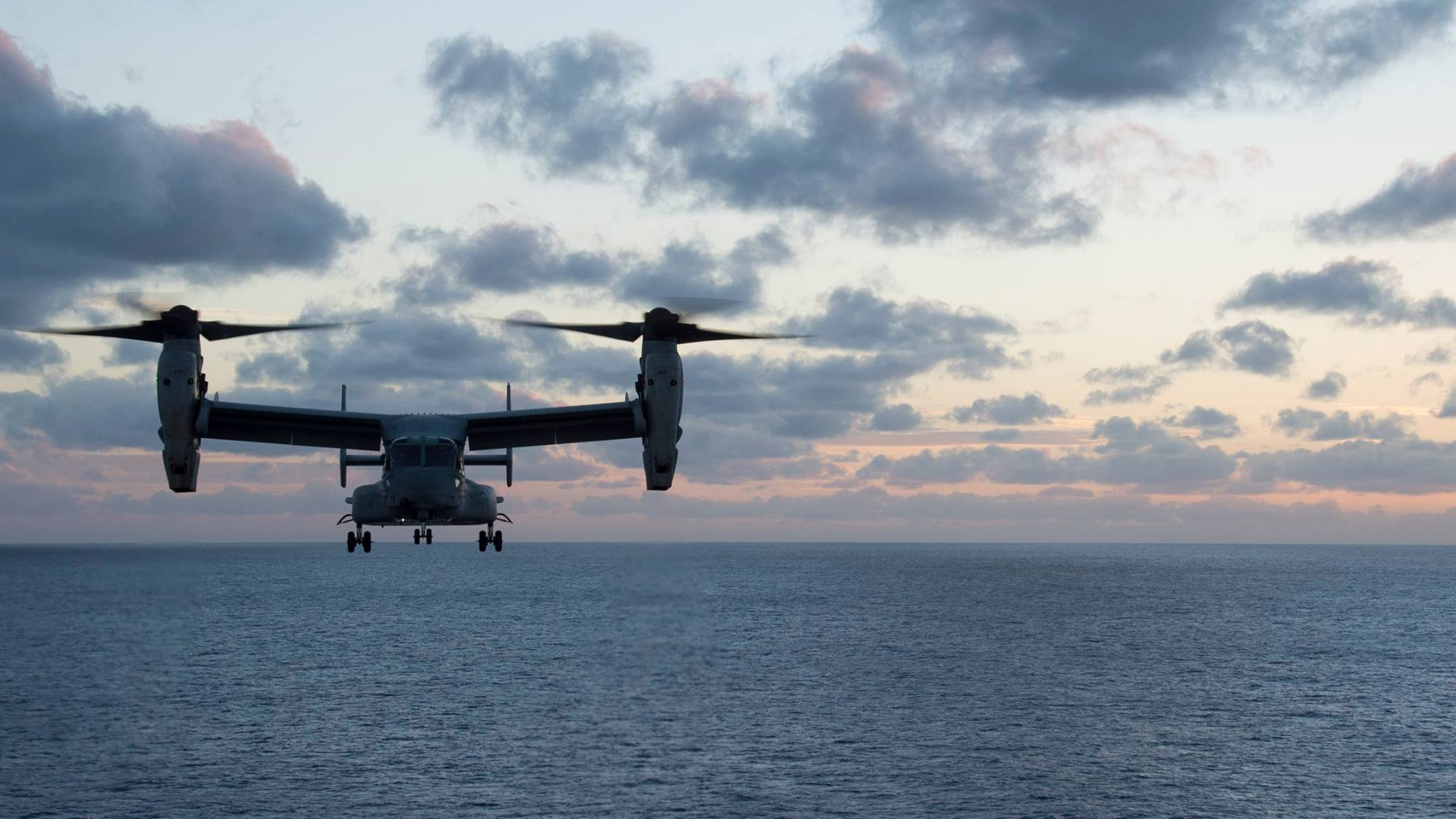 The Australian Navy has located a missing US military aircraft that crashed off Australia's east coast on August 6th, 2017. (Credit: USS Bonhomme Richard)
