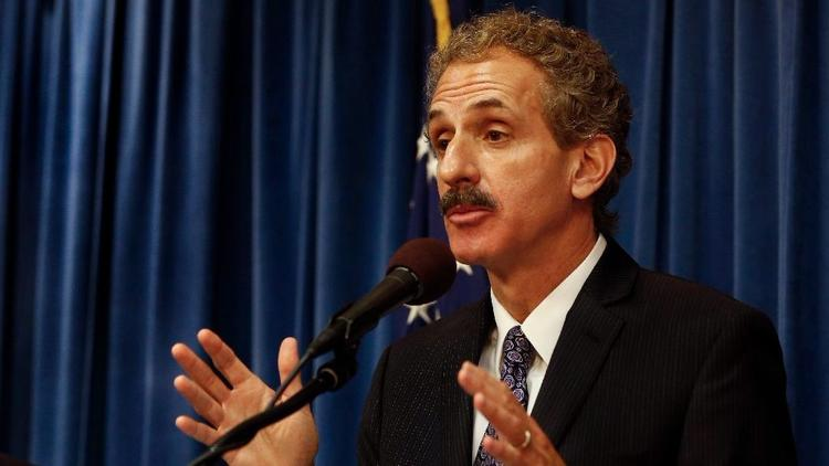 An undated photo shows L.A. City Atty. Mike Feuer. (Credit: Mel Melcon / Los Angeles Times)