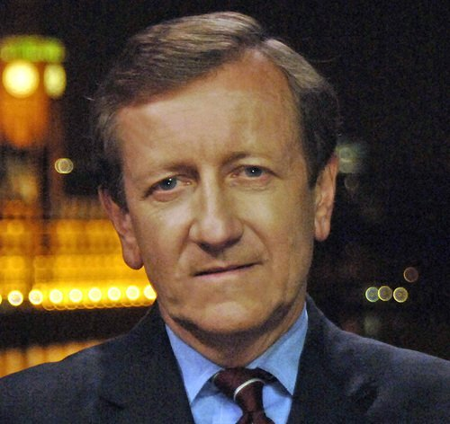 ABC News reporter Brian Ross is shown in a Twitter photo.