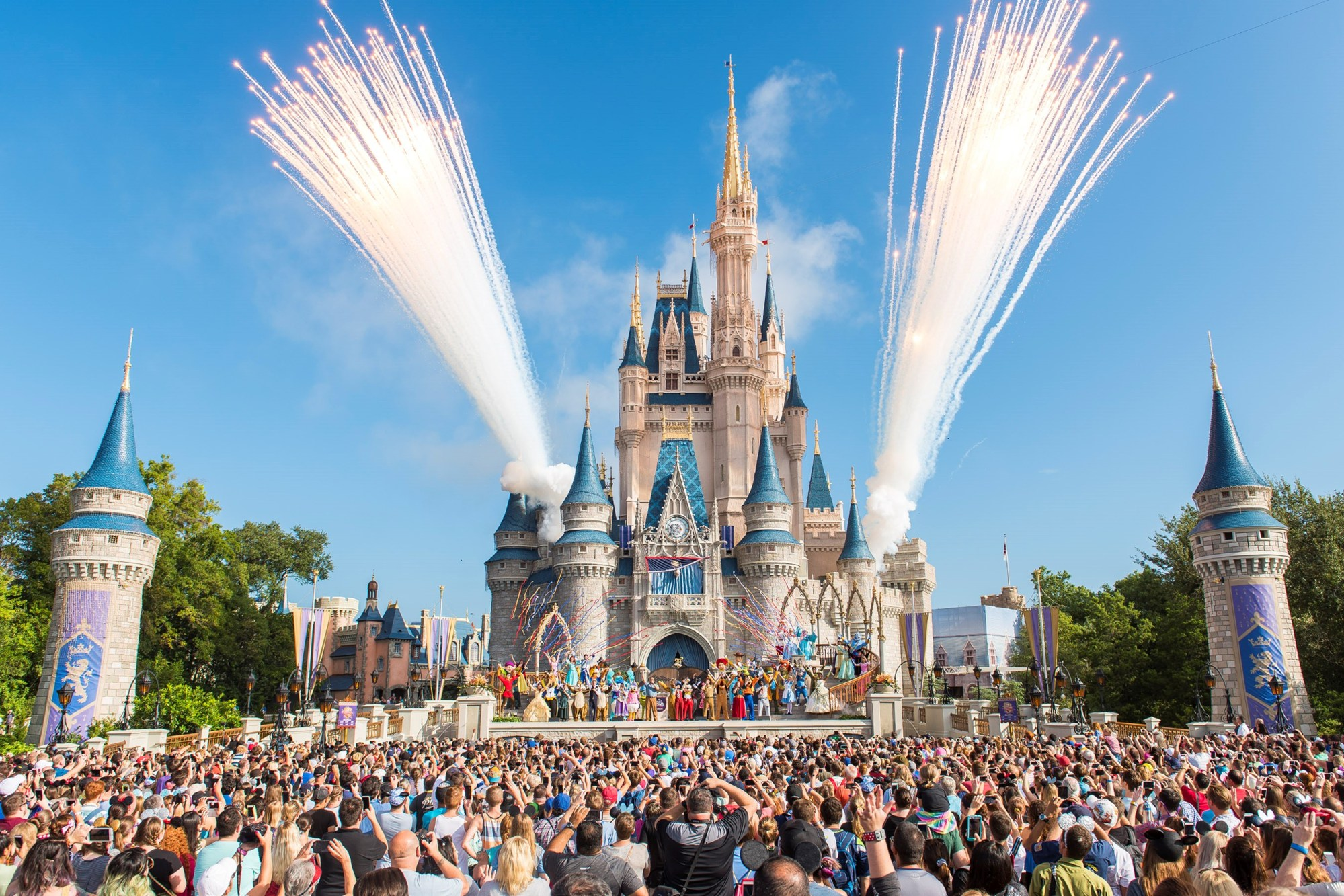 Walt Disney World Resort marked its 45th anniversary on October 1, 2016 in Lake Buena Vista, Florida. (Credit: Jacqueline Nell/Disneyland Resort via Getty Images)