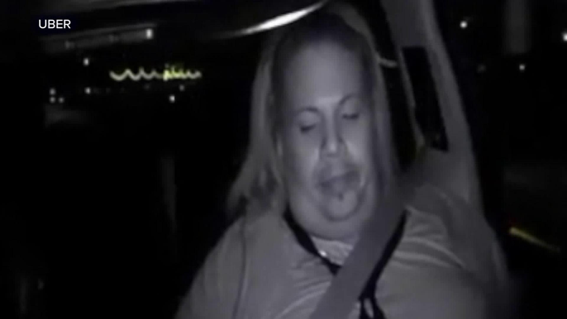 Uber operator Rafaela Vasquez is seen in this dashcam footage released by Uber.