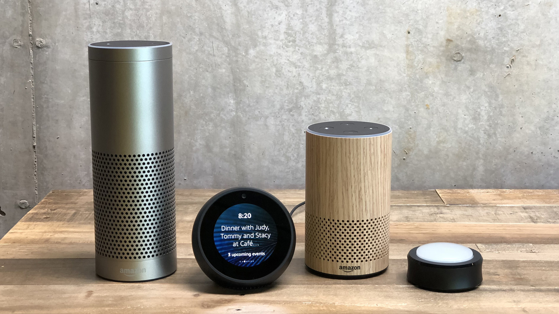 You can get the KTLA 5 News Flash briefing on any Amazon Alexa device. (Credit: Heather Kelly/Amazon via CNN Wire)