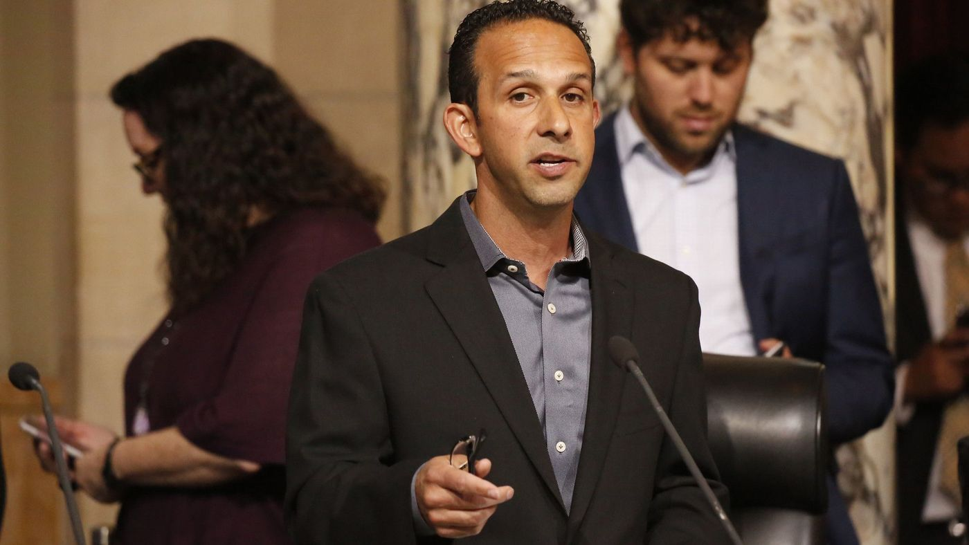 Los Angeles City Councilman Mitchell Englander is seen in this undated photo. (Credit: Al Seib / Los Angeles Times)