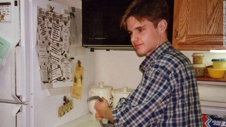 Matthew Shepard seen in an undated family photo provided by the Matthew Shepard Foundation.