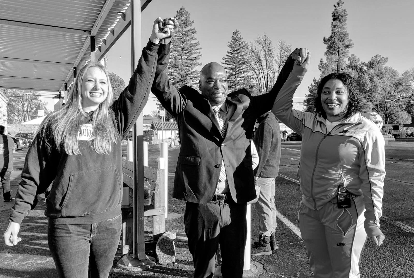"""Quintin """"Q.T."""" Morris is seen in an undated photo posted to the website for the California Innocence Project. He was released from Folsom State Prison on Jan. 10, 2019, after serving 27 years for a crime he says he didn't commit"""