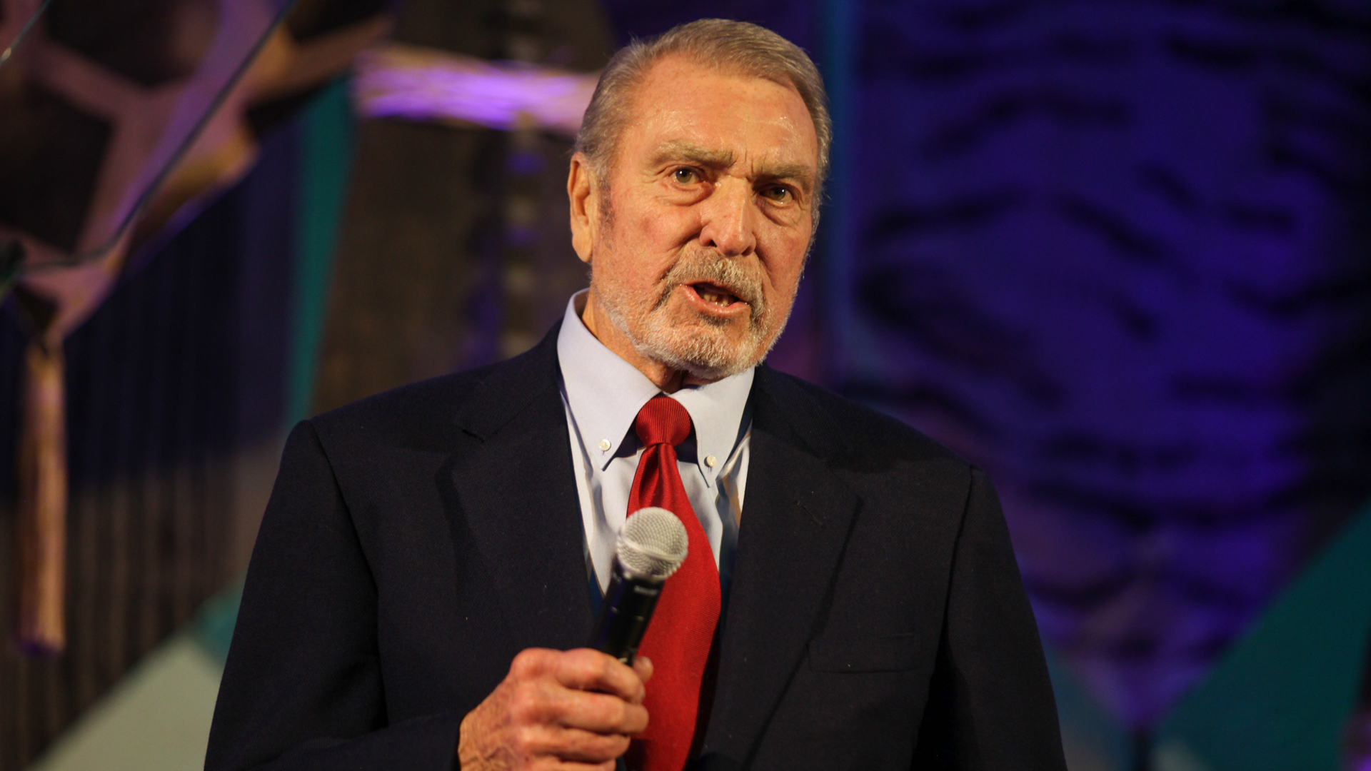 Ron Miller speaks onstage during The Walt Disney Family Museum's 3rd Annual Fundraising Gala at the Golden Gate Club on Nov. 7, 2017, in San Francisco, California. (Credit: Kelly Sullivan/Getty Images for The Walt Disney Family Museum)