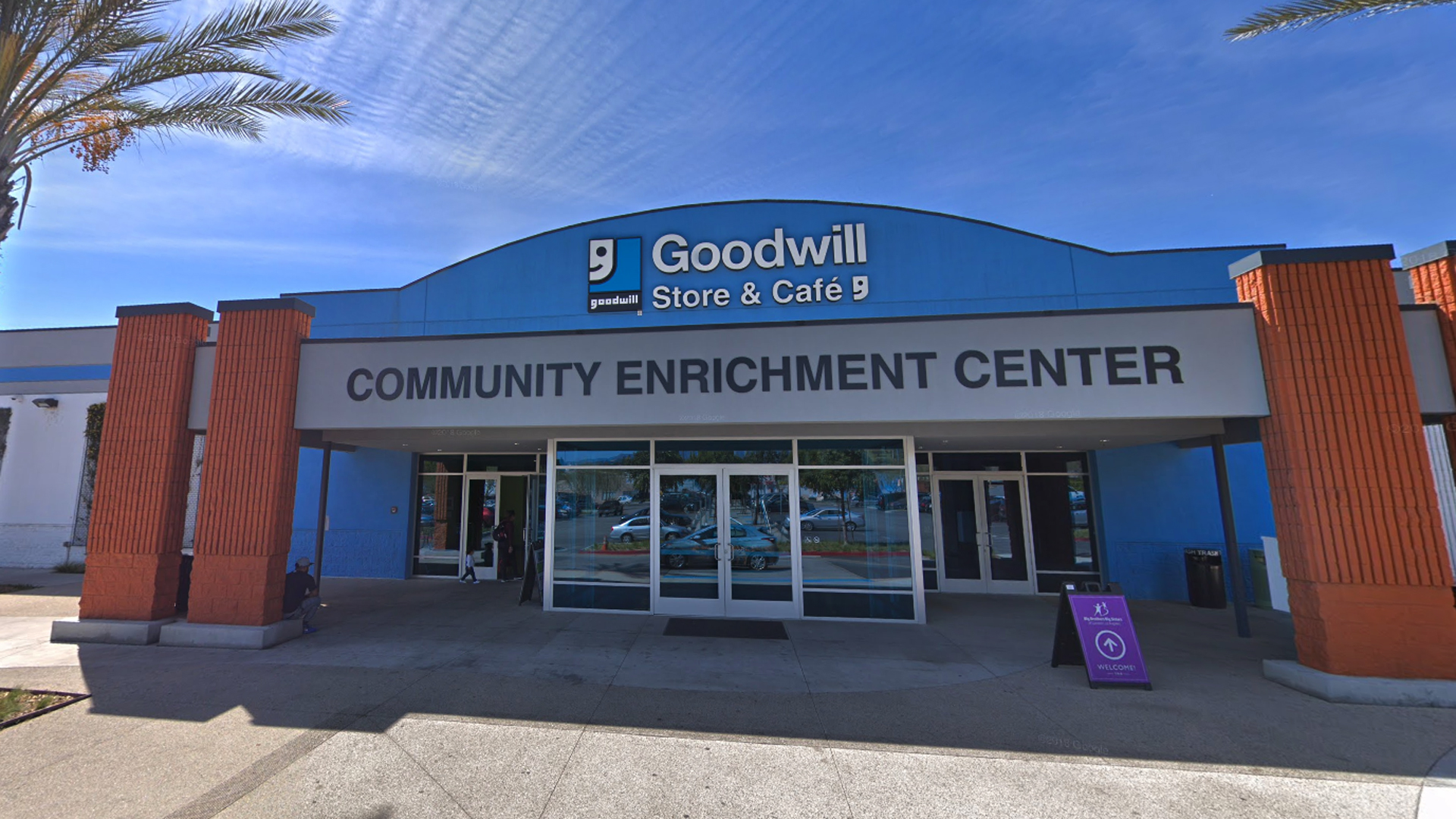 The Goodwill Store & Donation Center on San Fernando Road in Glassell Park is seen in a Google Maps Street View image from March 2018.