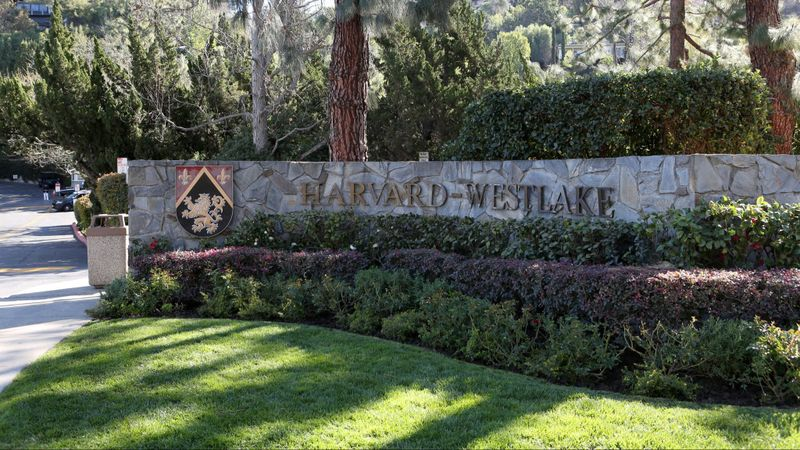 Harvard-Westlake School is seen in Studio City in an undated image. (Credit: Katie Falkenberg / Los Angeles Times)