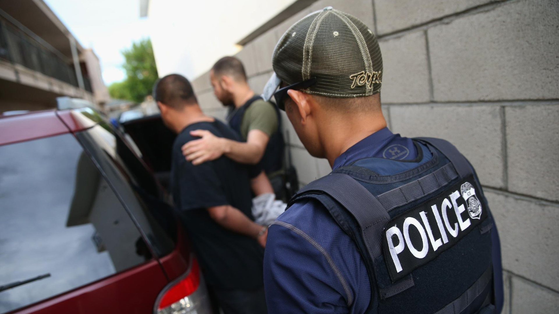 The 9th US Circuit Court of Appeals on Friday ruled in favor of the Trump administration, saying the Department of Justice could give preference in awarding grants to cities that would use the money to focus on illegal immigration, as the federal government prepares to seek out undocumented immigrants in raids this weekend. (Credit: John Moore/Getty Images via CNN)