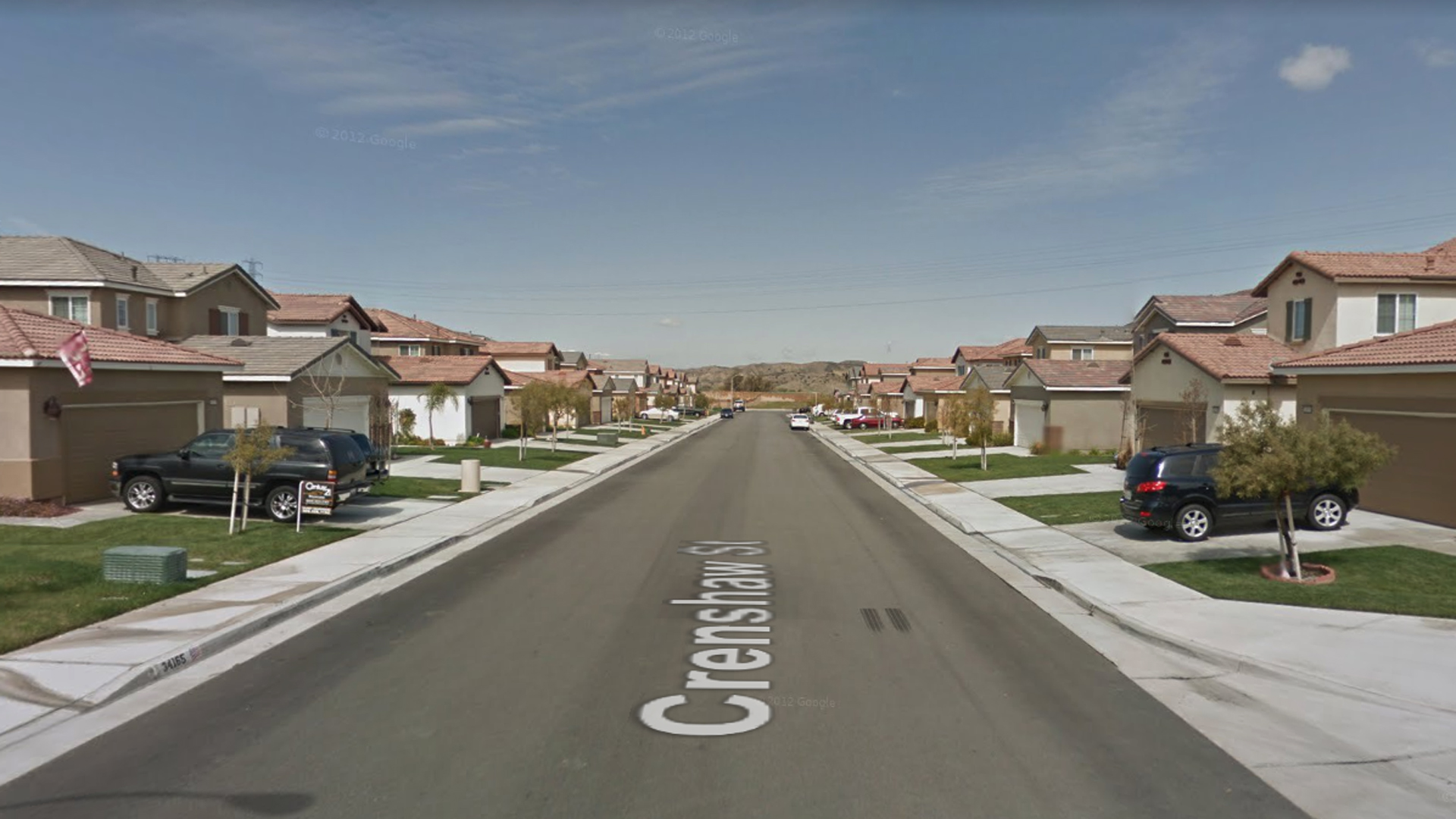 The 34400 block of Crenshaw Street in Beaumont, as pictured in a Google Street View image.