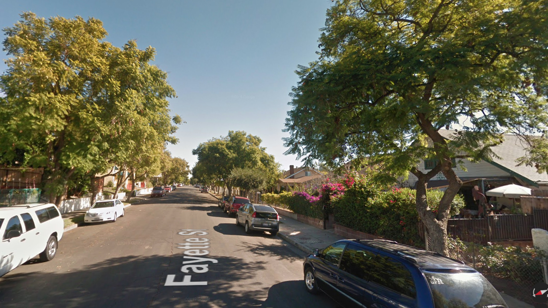 The 5000 block of Fayette Street in Highland Park is seen in this undated image from Google Maps.