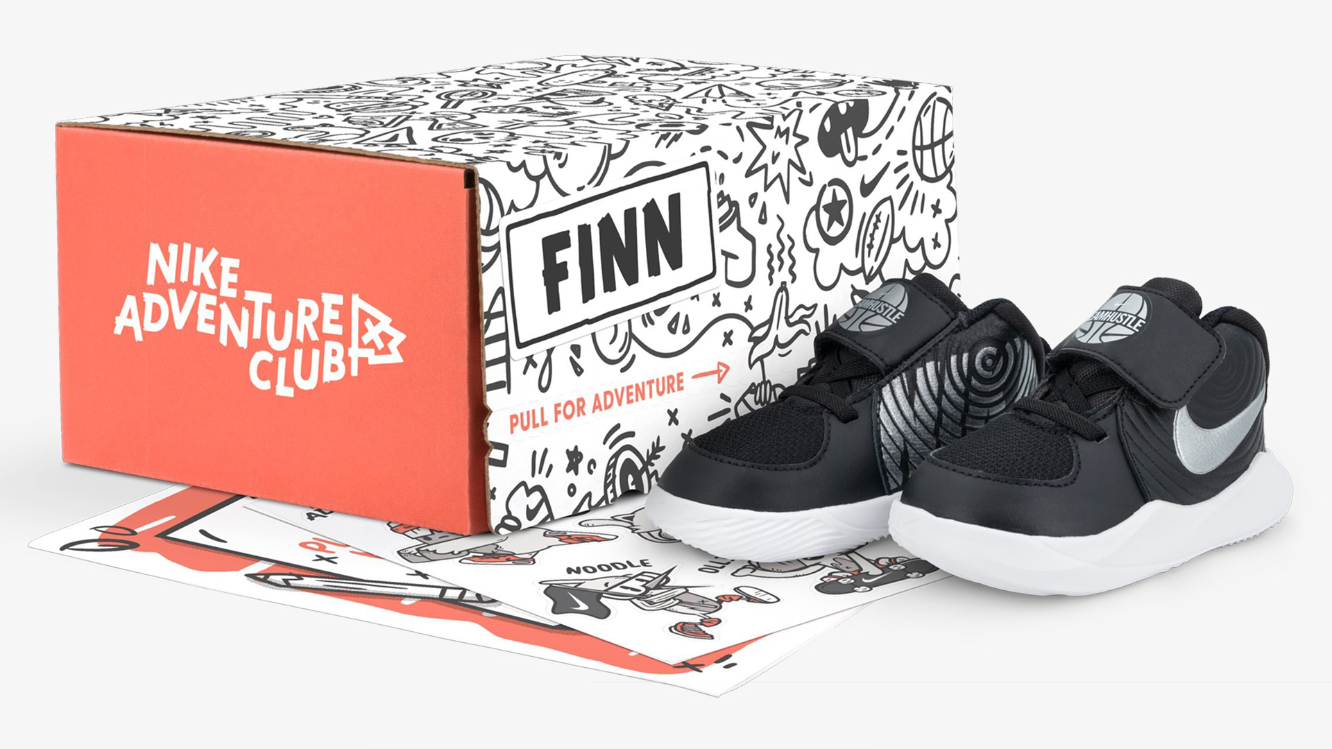 Nike is debuting Nike Adventure Club, a sneaker subscription for kids. (Credit: Nike)