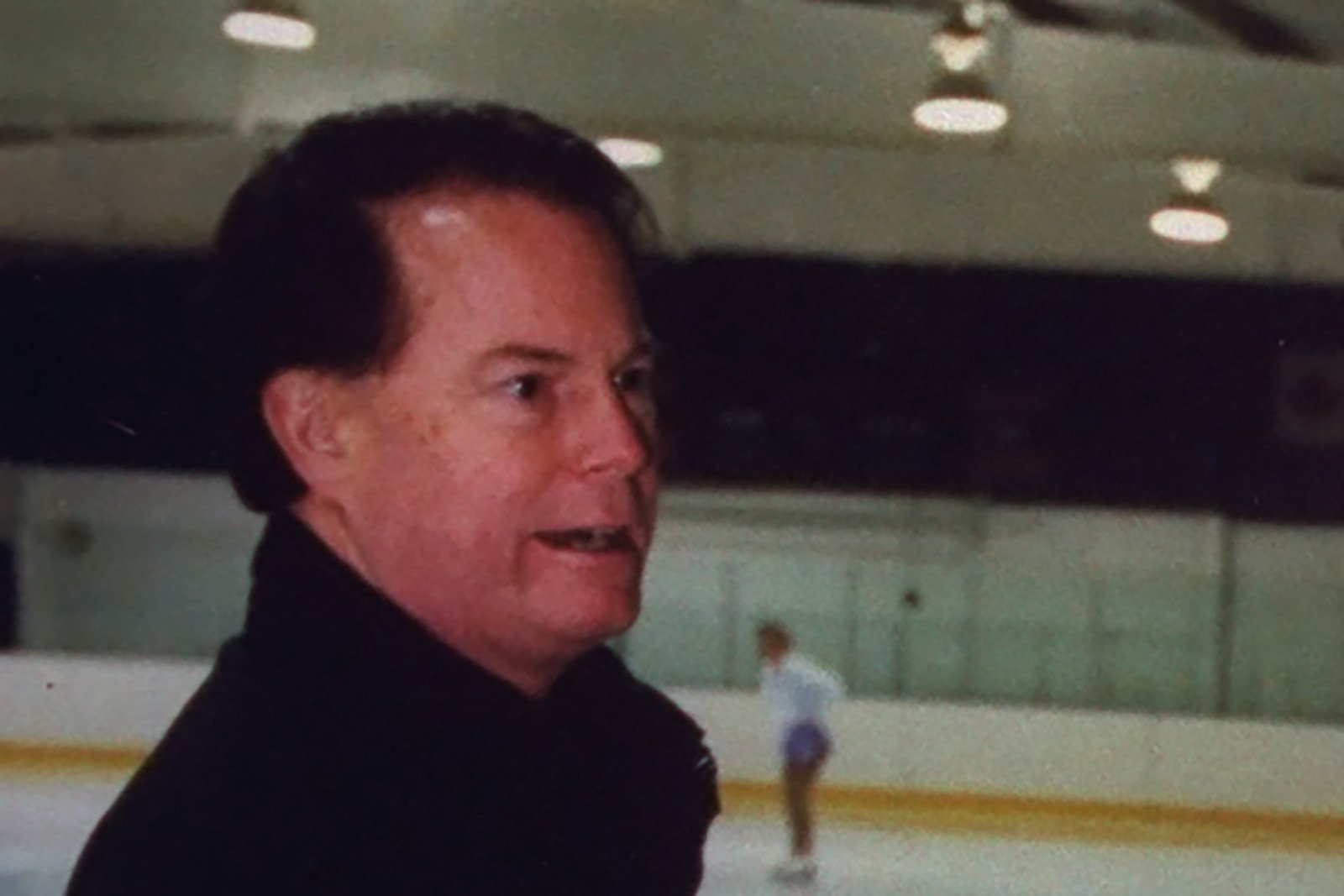Longtime U.S. Figure Skating coach Richard Callaghan appears in an undated photo. (Credit: Taro Yamasaki/Getty Images via CNN)