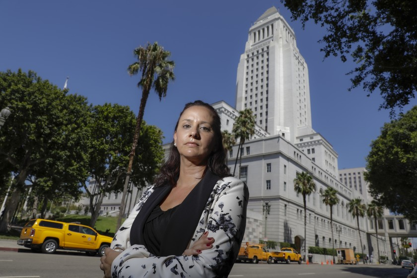 Beth Kennedy, a chief internal auditor for City Controller Ron Galperin, is seen in an undated photo. (Credit: Irfan Khan/Los Angeles Times)