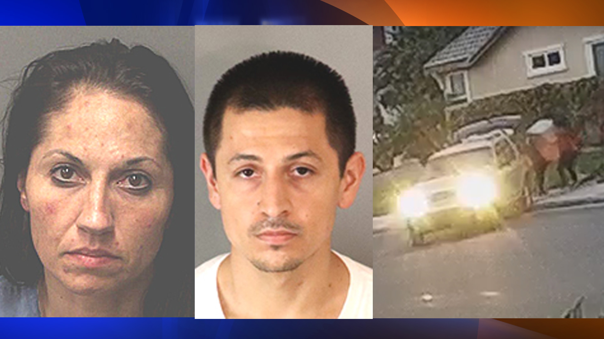 Nadia Gomez-Nunez and David Avila are seen in these booking photos on Sept. 10, 2019 from the Riverside County Sheriff's Department.