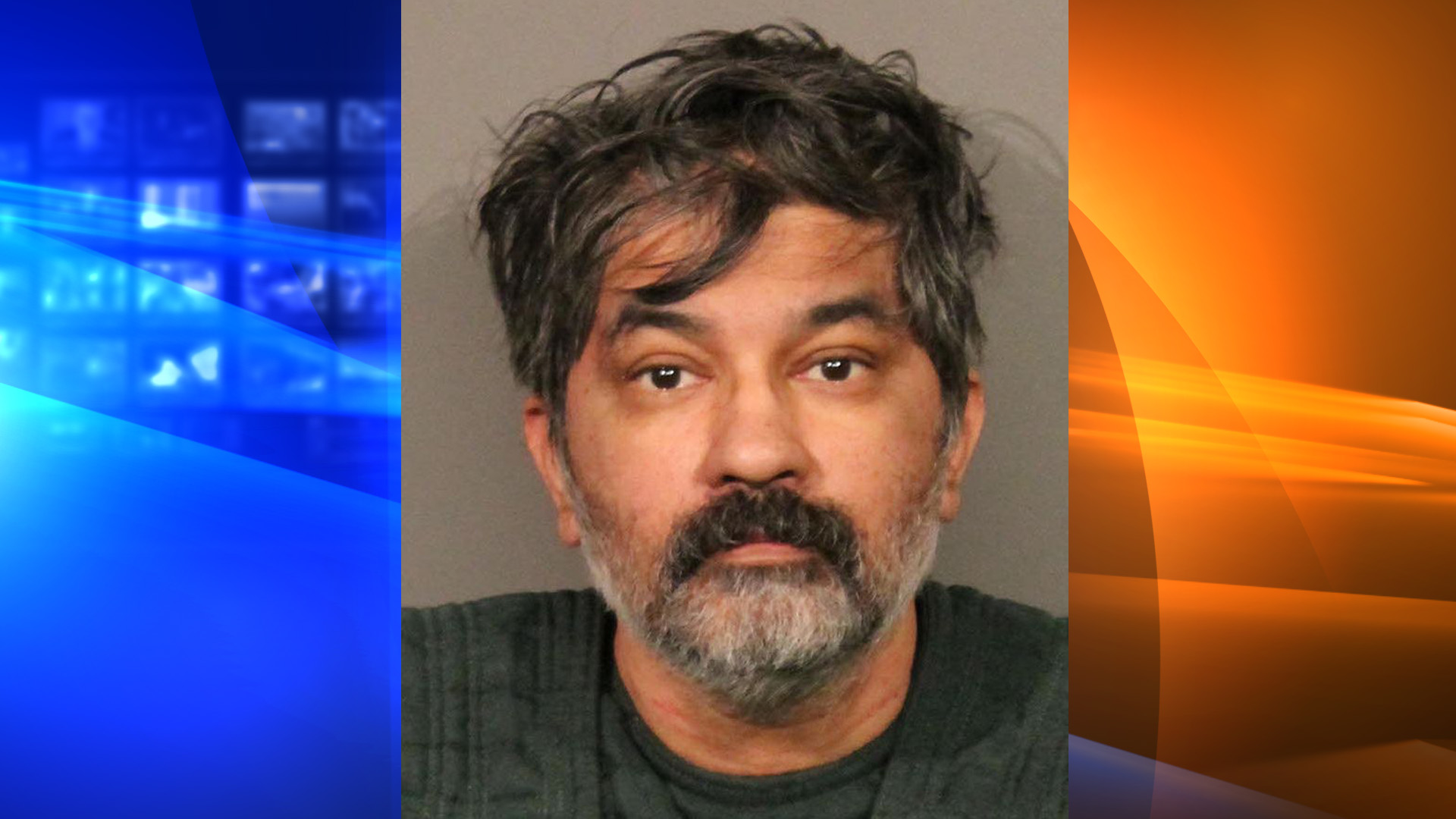 A booking photo of Shankar Nagappa Hangud released on Oct. 15, 2019, by the Roseville Police Department.