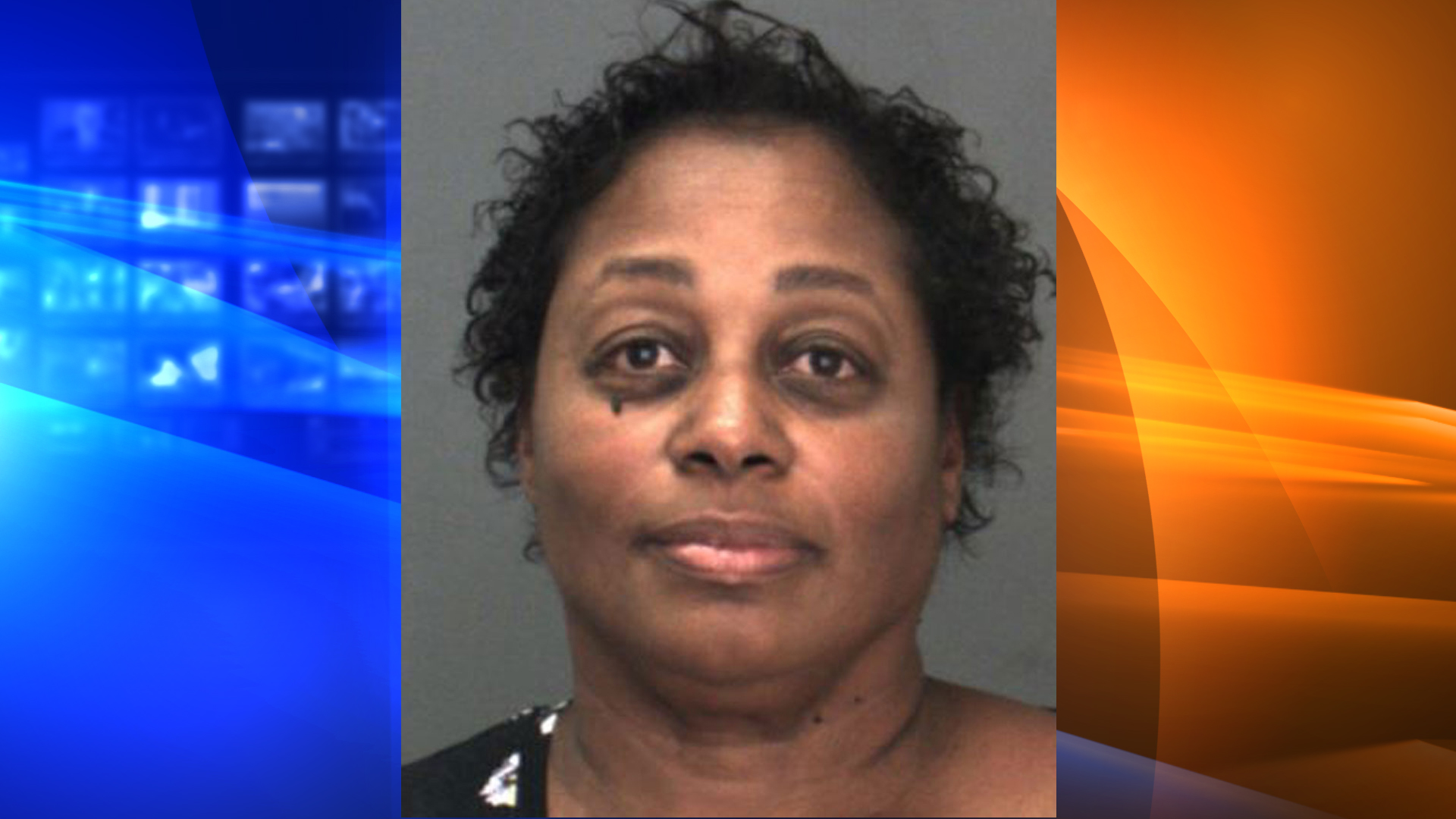Rosalind Drinkard-Batiste is seen in a booking photo released by the San Bernardino County Sheriff's Department on Nov. 5, 2019.