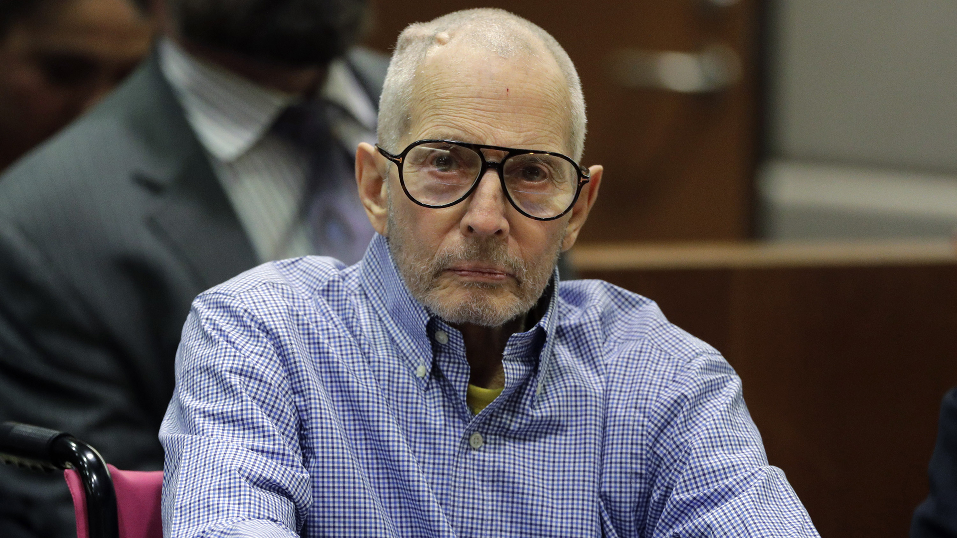 Real estate heir Robert Durst appears in the Airport Branch of the Los Angeles County Superior Court during a preliminary hearing on Dec. 21, 2016. (Credit: Jae C. Hong / Getty Images)