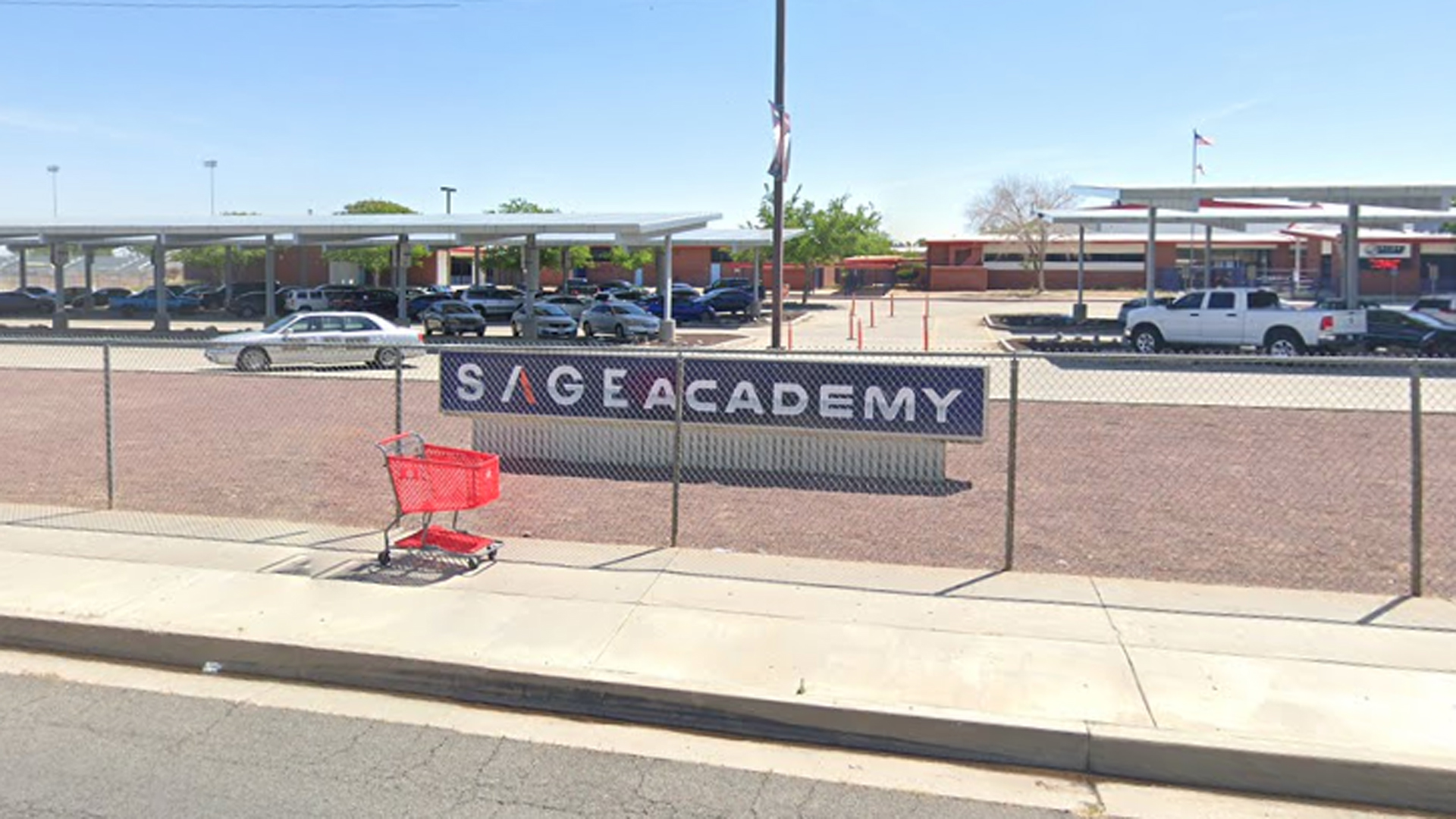 SAGE Academy is seen in a Google Maps image.
