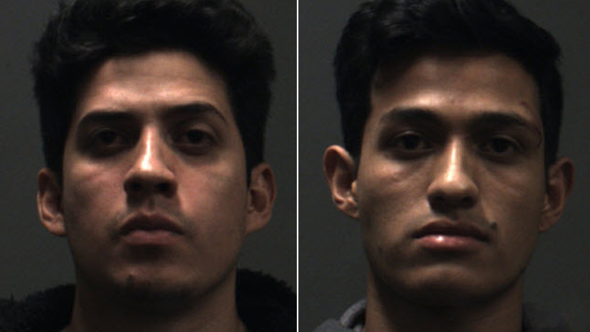 Rony Castaneda Ramirez, left, and Josue Castaneda Ramirez are seen in undated booking photos released on Dec. 16, 2019, by the Chino Police Department.