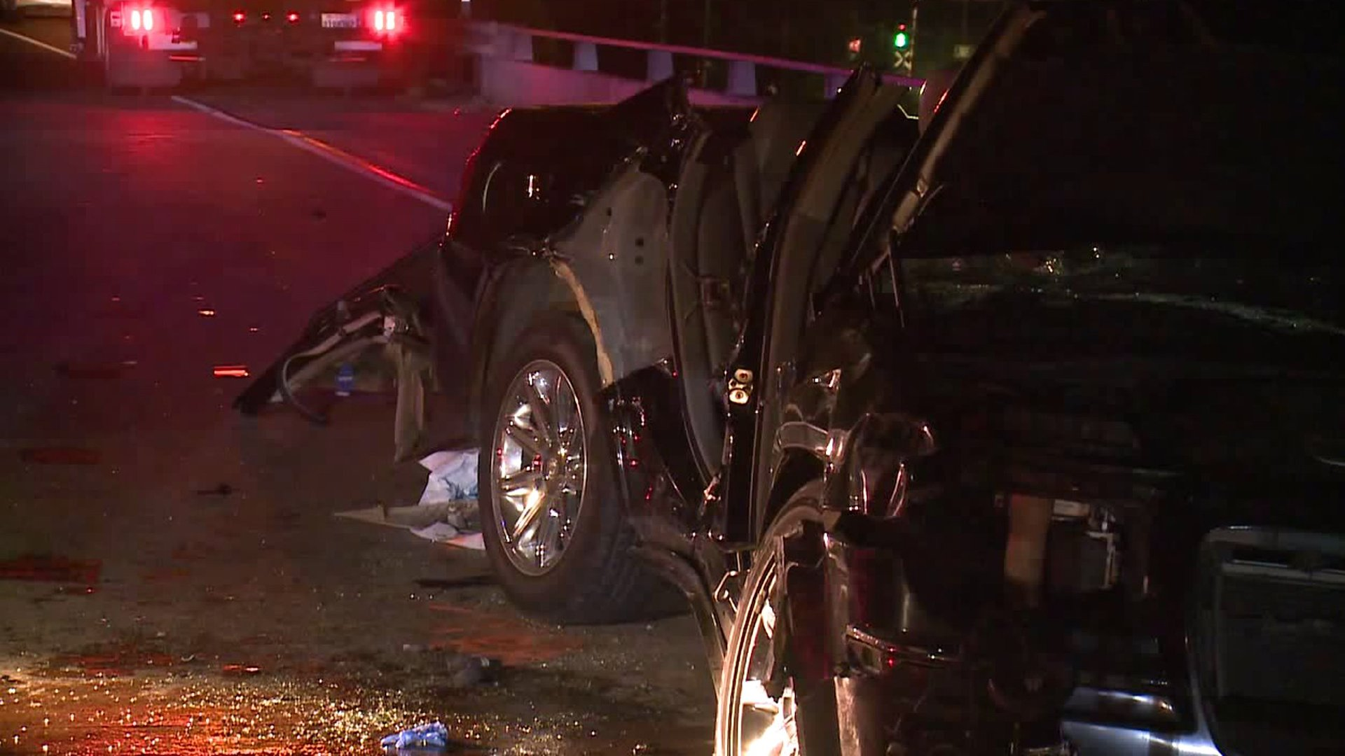CHP investigated a fatal crash on State Route 905 in Otay Mesa on Jan. 7, 2020. (Credit: KSWB)