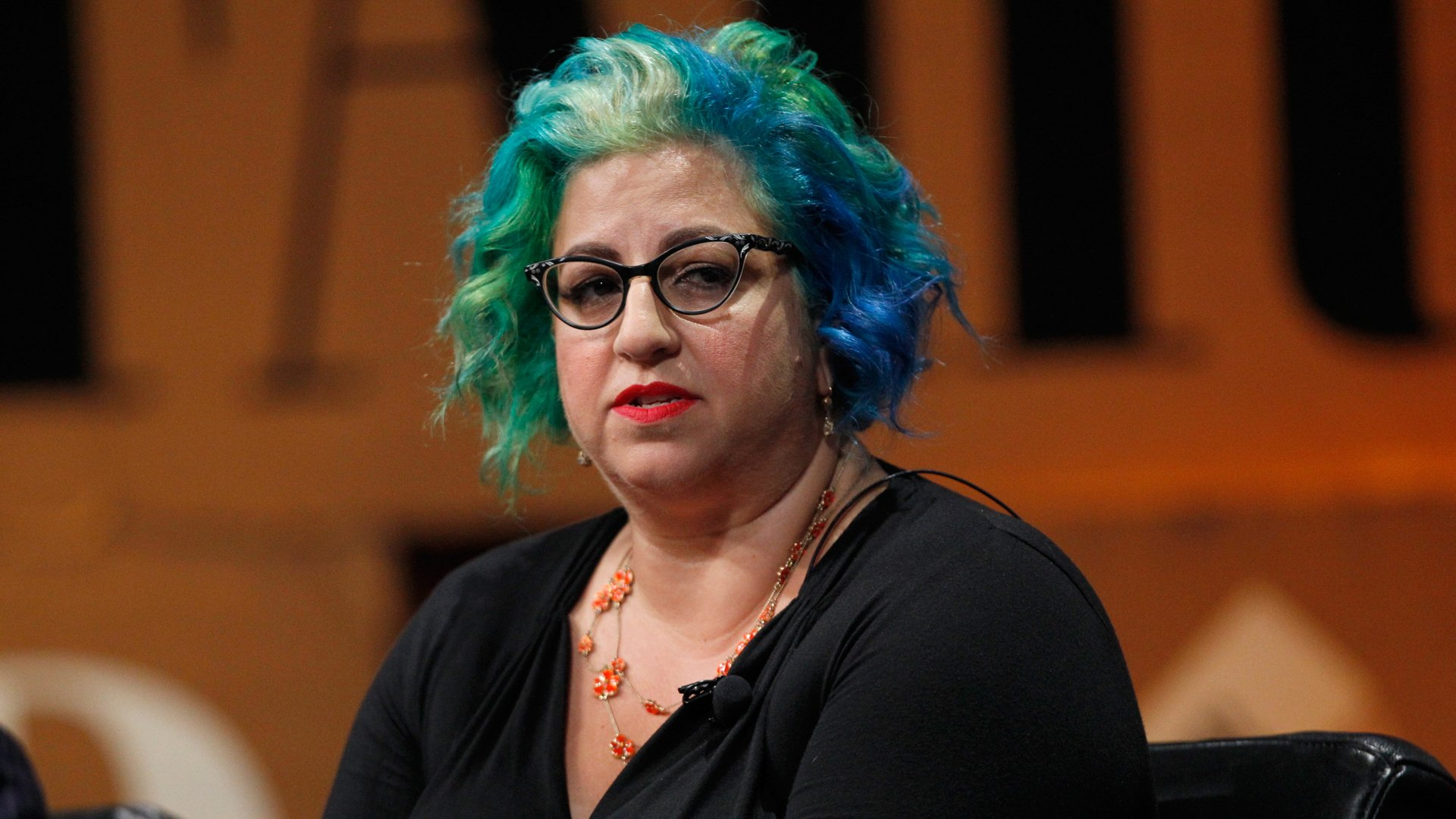 Filmmaker Jenji Kohan is seen on Oct. 9, 2014, in San Francisco. (Credit: Kimberly White/Getty Images for Vanity Fair)