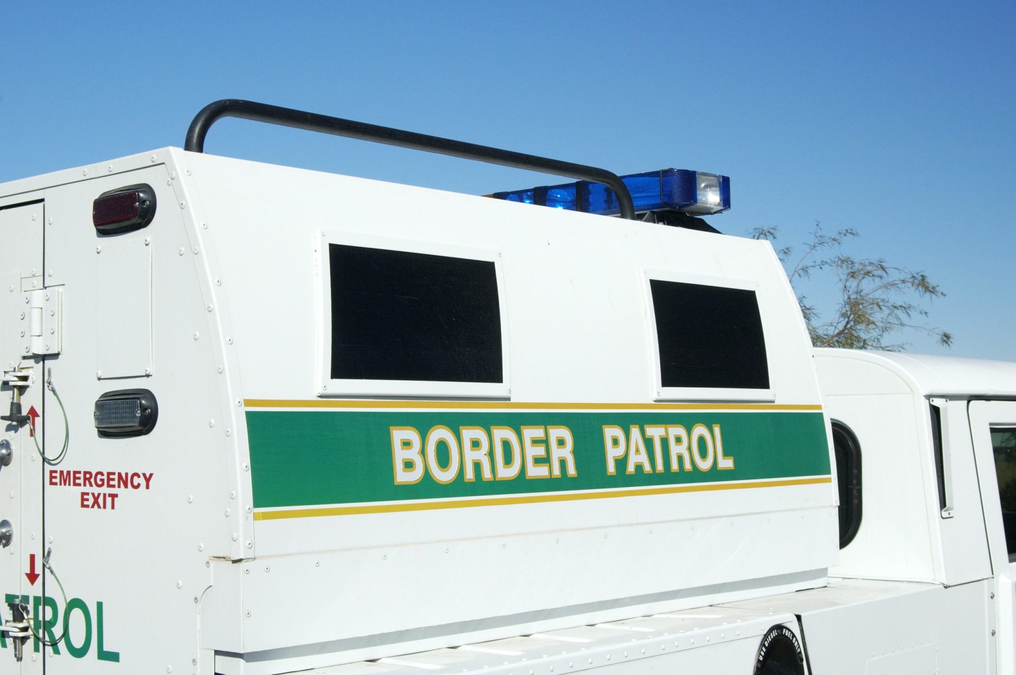 A U.S. border patrol vehicle is seen in this file photo. (Credit: Getty Images)