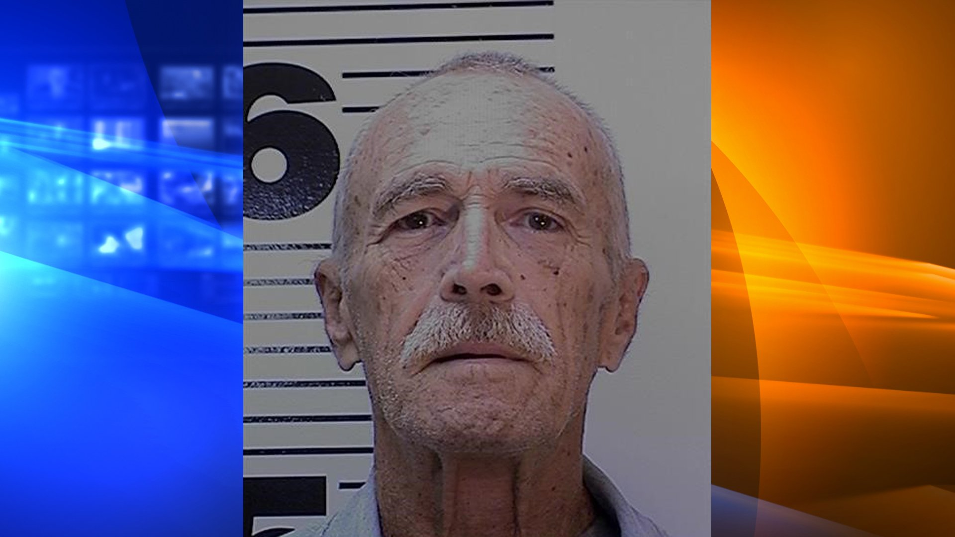 Death row inmate John Abel, 75, pictured in an undated photo provided by the California Department of Corrections and Rehabilitation.