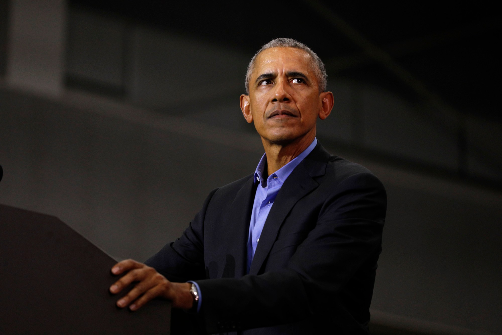 Former President Barack Obama issued a rare criticism of the Trump administration Tuesday after it announced it's rolling back his signature fuel standards aimed at combating the climate crisis. (Bill Pugliano/Getty Images)