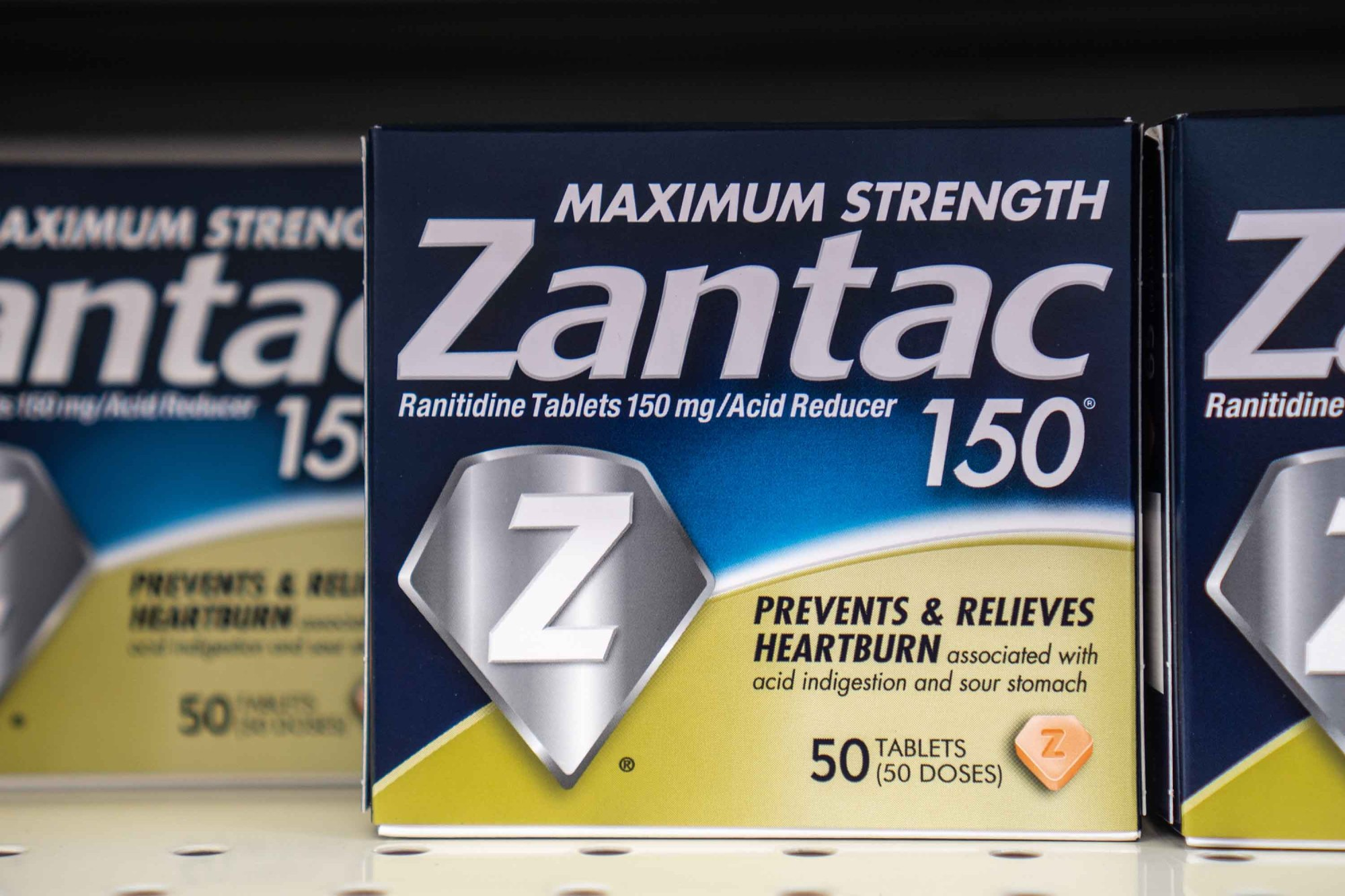 Over the counter Zantac used for acid reflux and heartburn, according to FDA, may contain a probable human carcinogen. (Shutterstock)