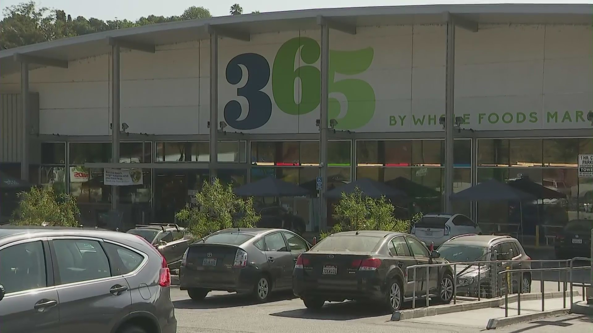 Whole Foods Market 365 is seen on July 14, 2020. (KTLA)