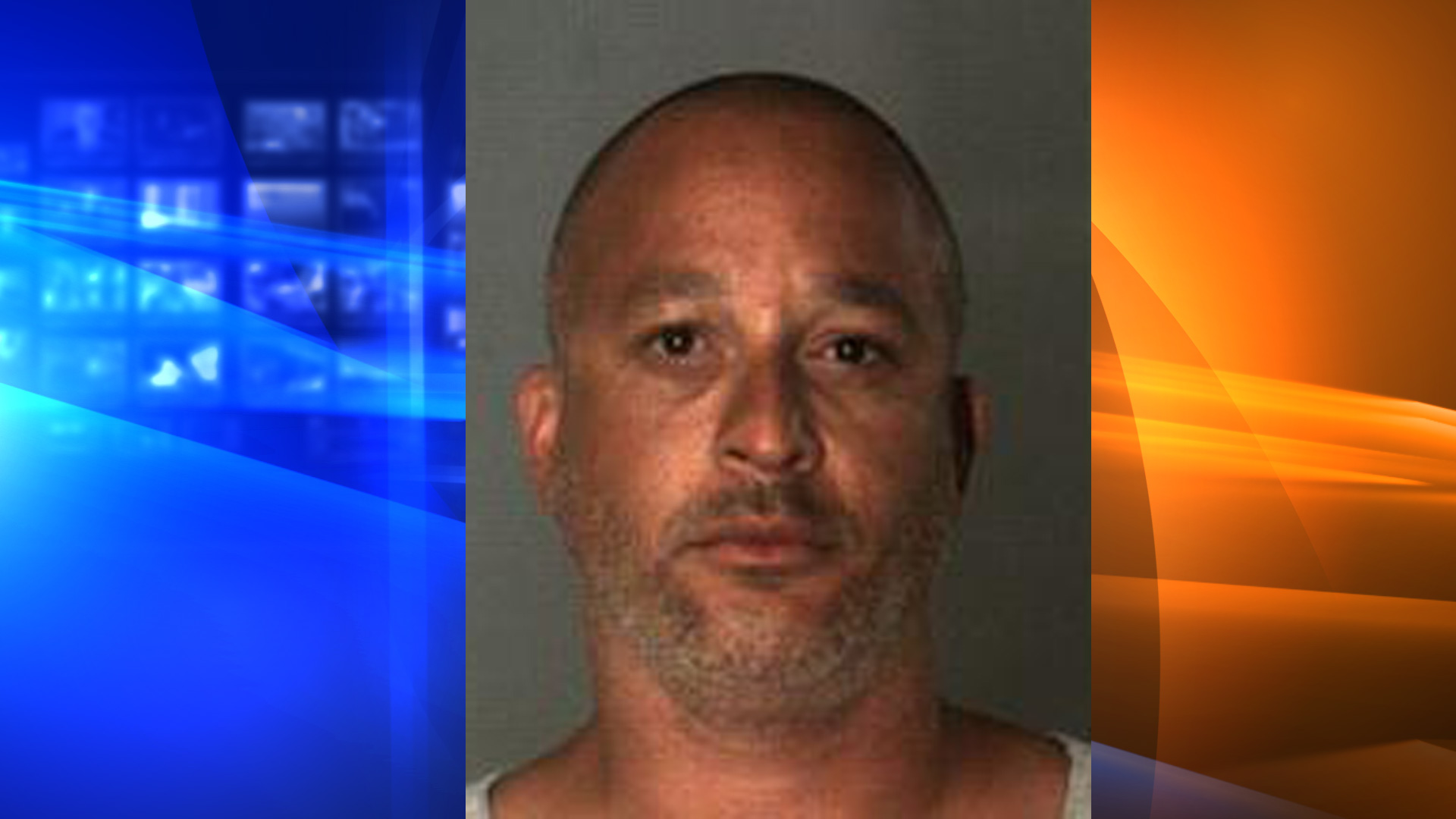 Gerad Bullard is seen in a booking photo provided by the San Bernardino County Sheriff's Department on July 14, 2020.