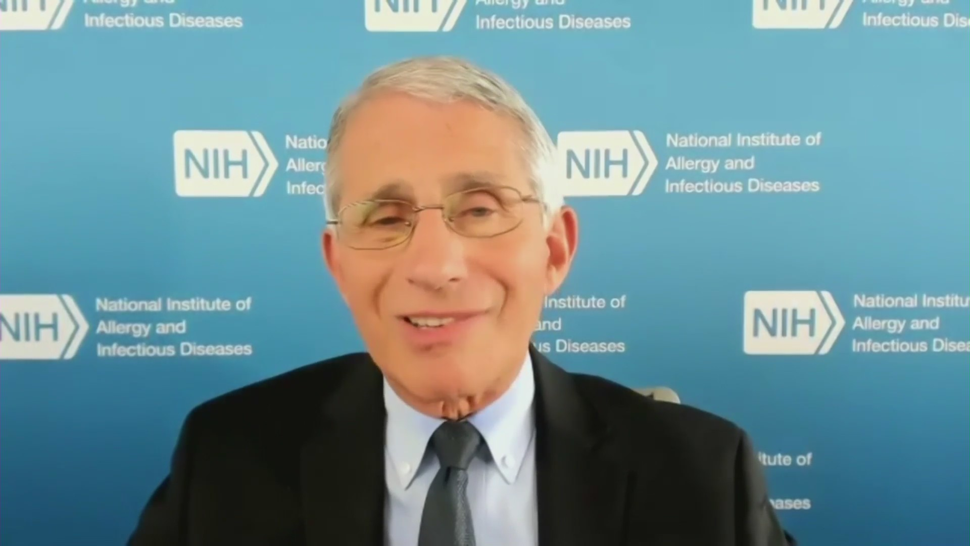 Dr. Anthony Fauci speaks to KTLA on Aug. 3, 2020.